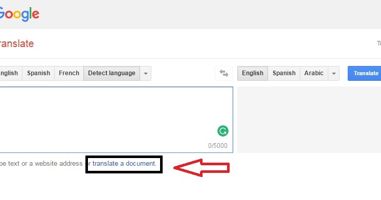 How To Translate PDF Files,Word Documents Using Google