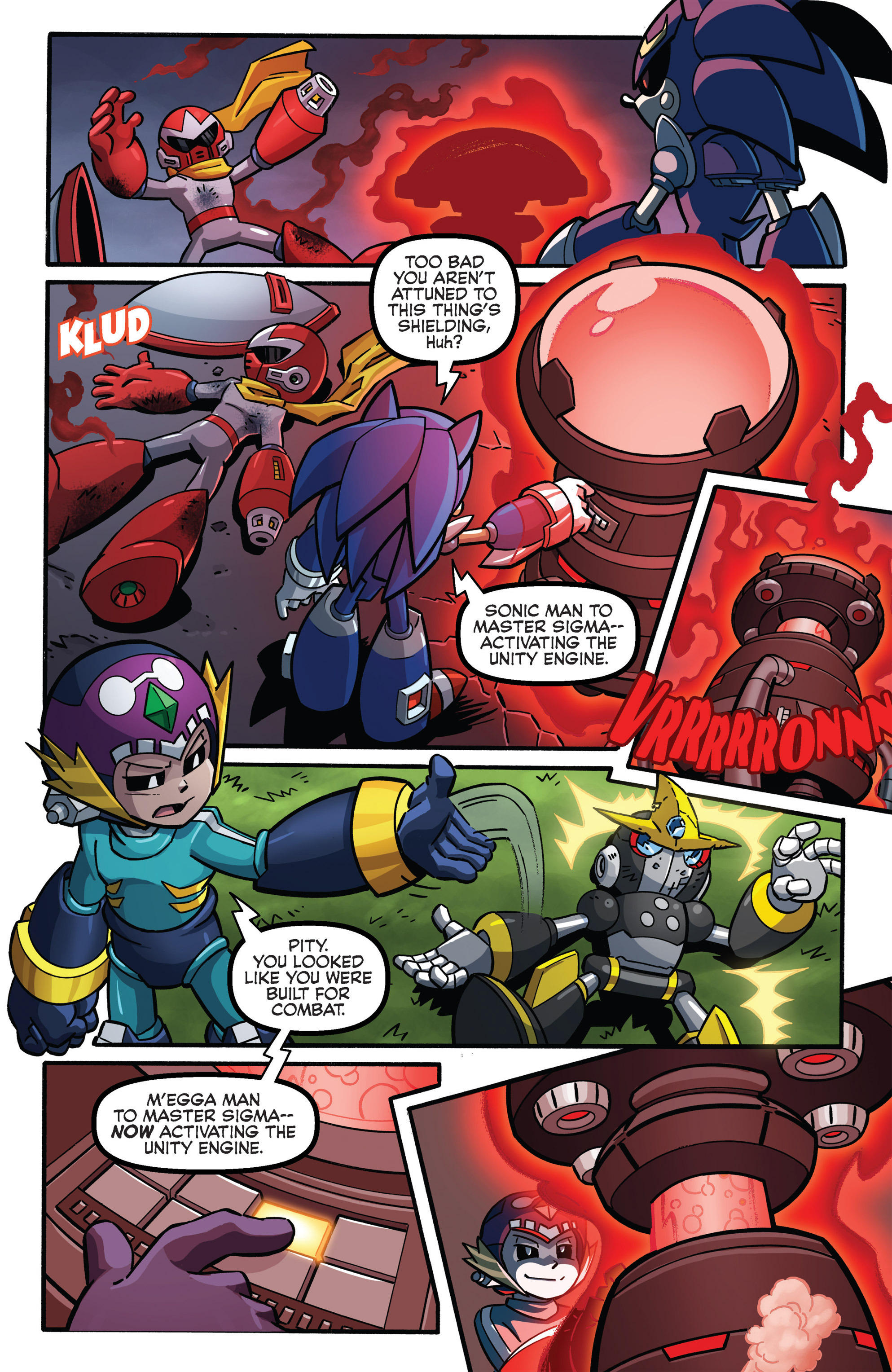 Read online Sonic The Hedgehog comic -  Issue #273 - 19