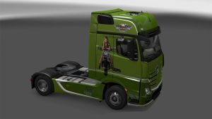 Harley Davidson skins for Mercedes MP4