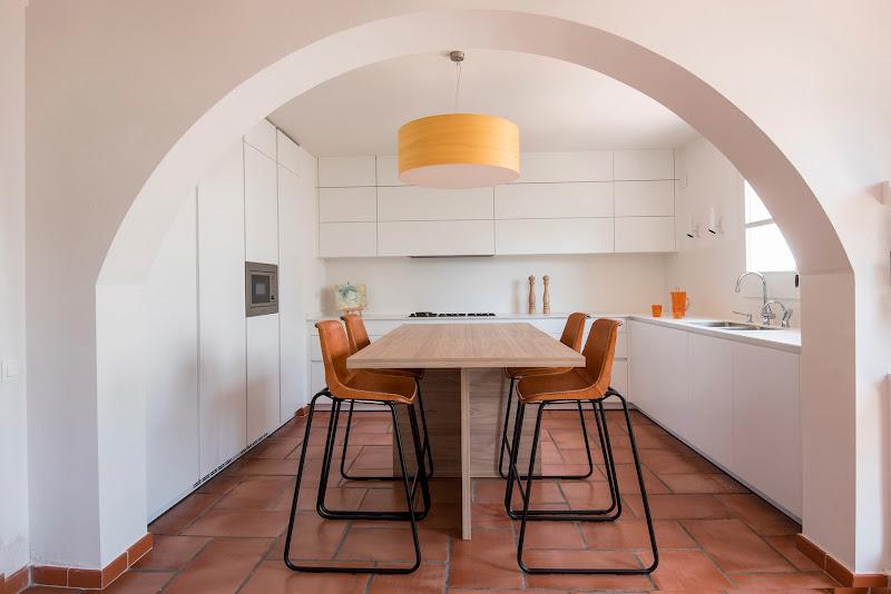 Cocina de espíritu mediterráneo - Clysa estudio