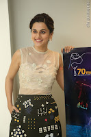Taapsee Pannu in transparent top at Anando hma theatrical trailer launch ~  Exclusive 075.JPG