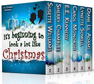 It's Beginning to Look a Lot Like Christmas Collection - an anthology of warm-hearted Christian romances by Susette Williams, E.E. Kennedy and others