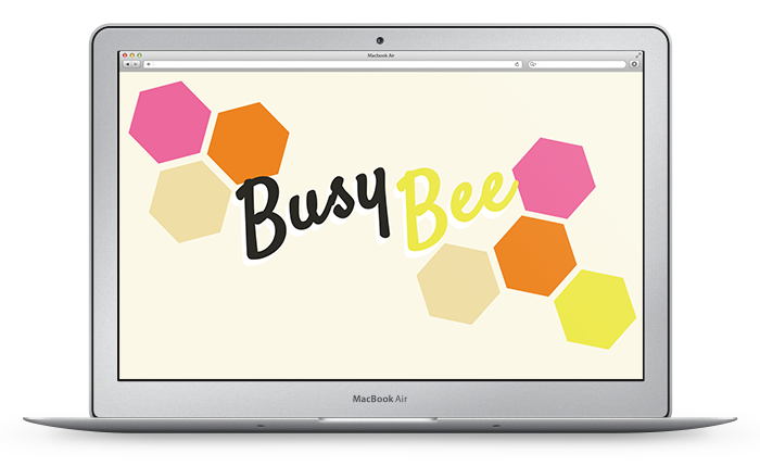 Busy As A Bee Desktop Design Download  |  LLK-C.com