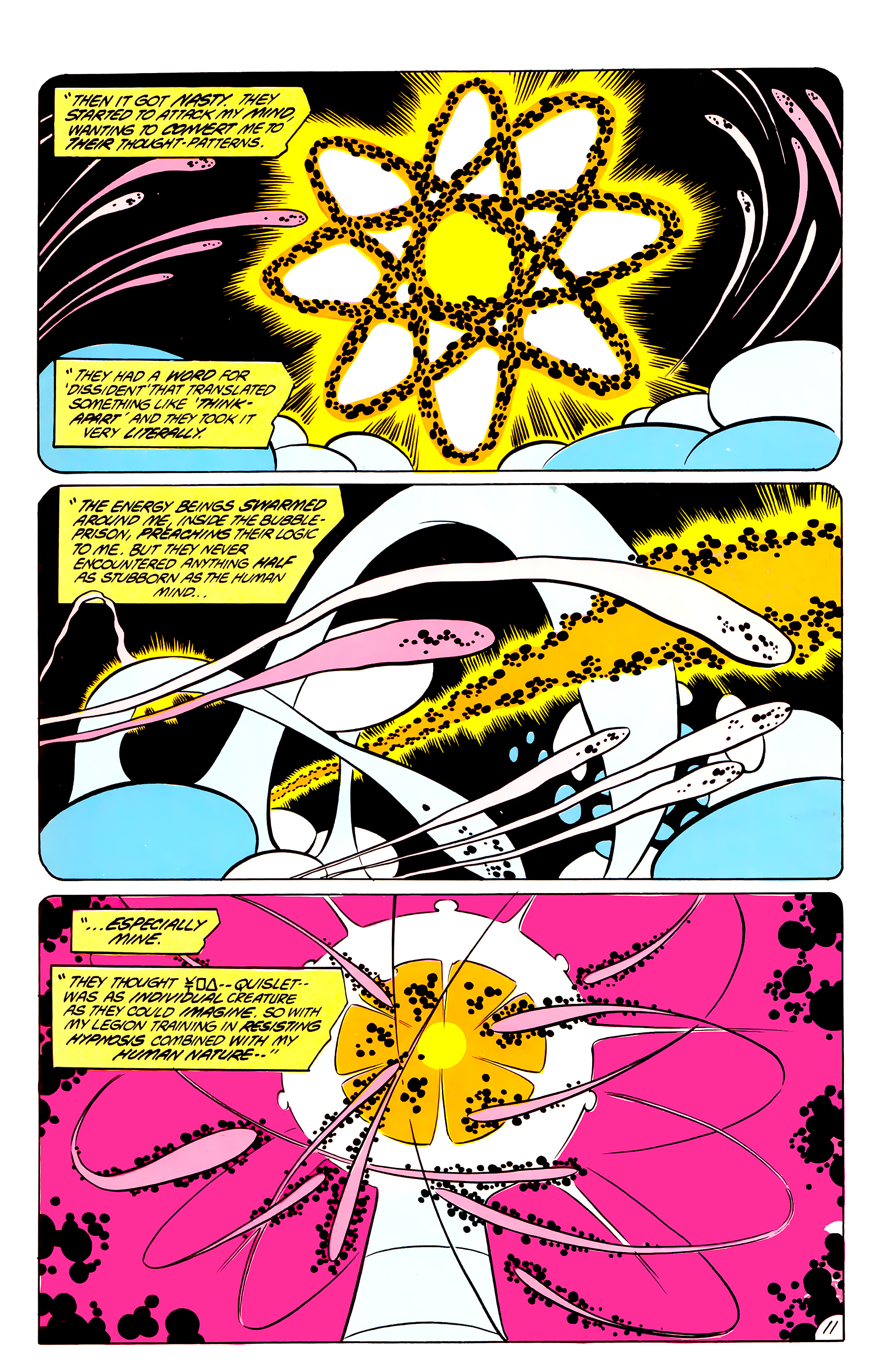 Legion of Super-Heroes (1984) 44 Page 11