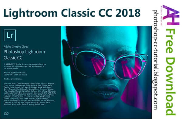 Lightroom Classic CC 2018 Full Crack - Photoshop cc tutorial