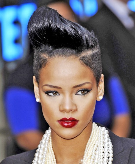 Rihanna Pop Haircuts