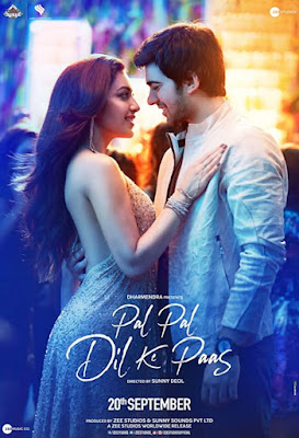 Pal Pal Dil Ke Paas 2019 Hindi Pre-DVDRip 400Mb x264