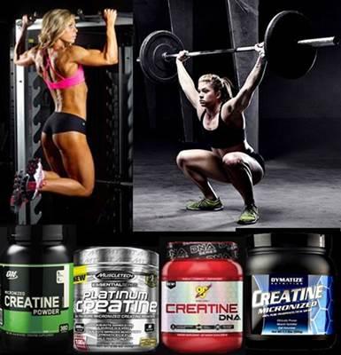 Las mejores marcas de creatina que ayudan a las mujeres a mejorar el rendimiento y la masa muscular