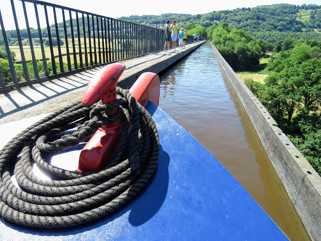 Things to do in North Wales: Take a Jones the Boats Canal Boat across Pontcysyllte Aqueduct
