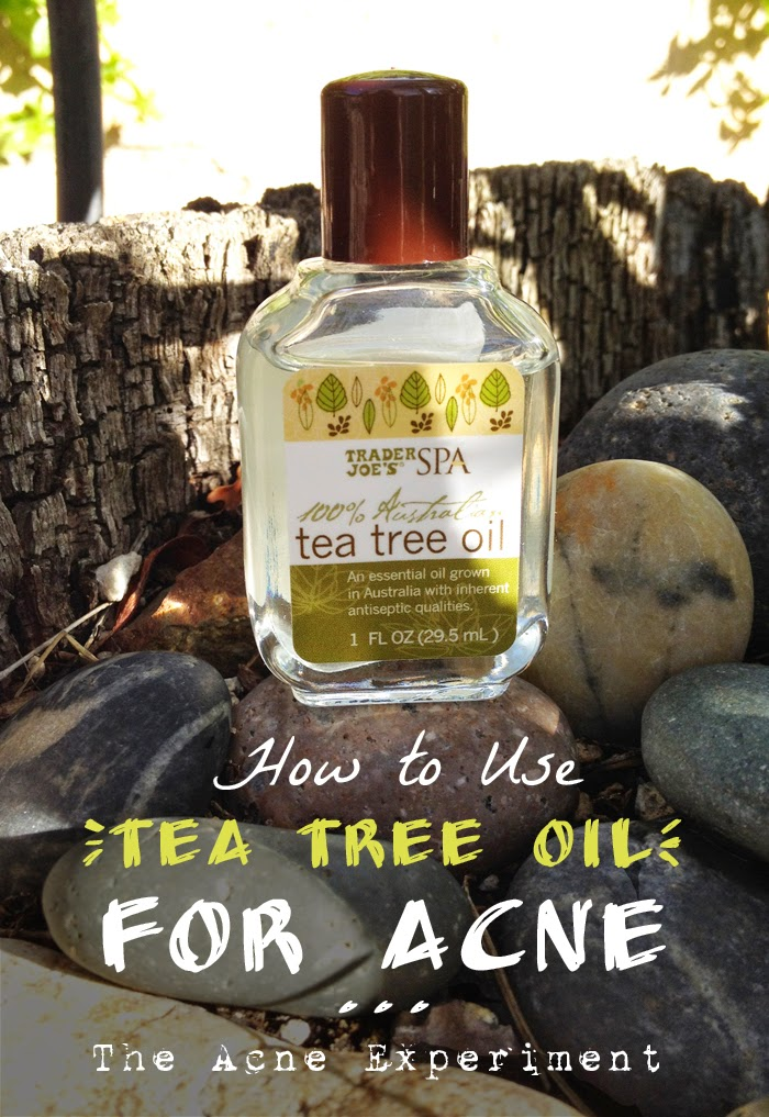 How to Use Tea Tree Oil for Acne :: The Acne Experiment