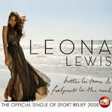 Leona Lewis Footprints In The Sand Lyrics