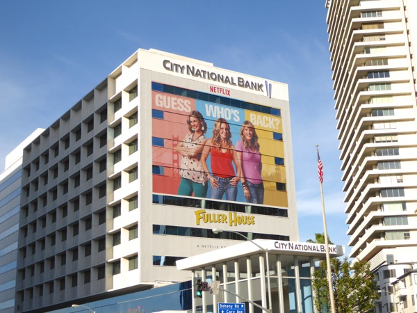 Giant Fuller House series premiere billboard