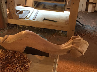 carved feet