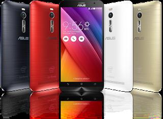 Cara Flashing / Install Ulang Asus Zenfone 2 All Type