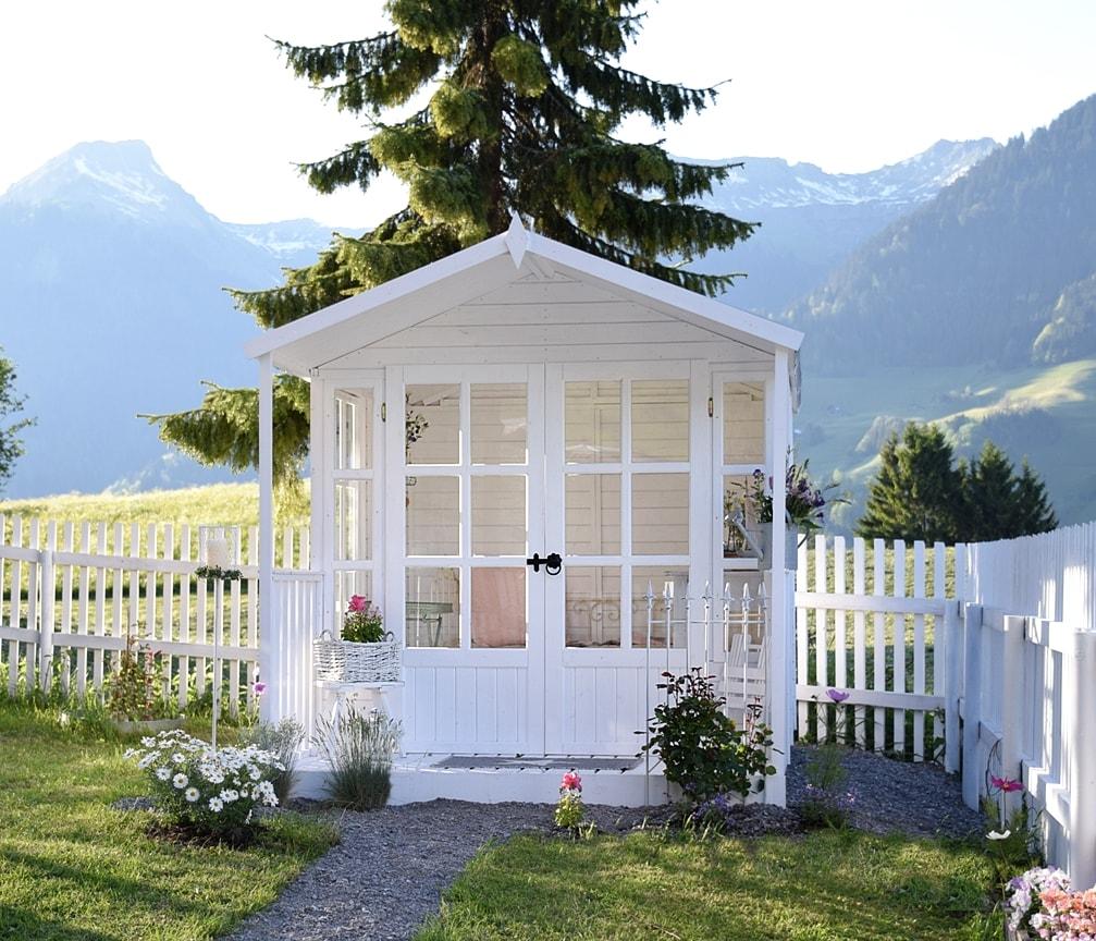 Gartenhaus vintage my blog - Gartenhaus shabby chic ...