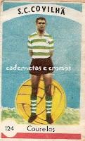 Resultado de imagem para cromos de futebol antigos Sporting da Covilhã
