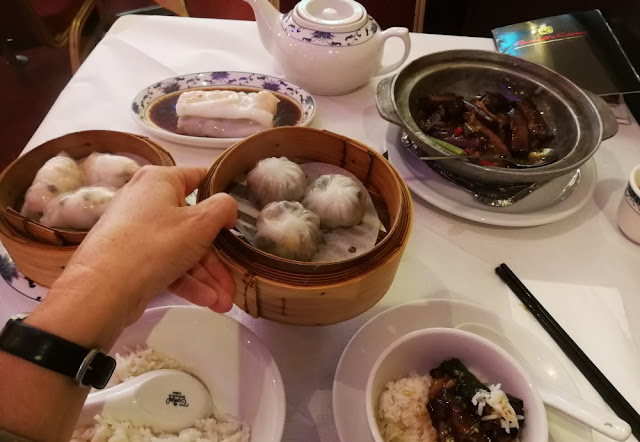 London 2017 - Dim sum in Chinatown
