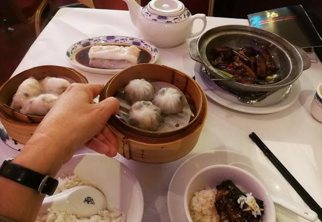 London 2017 - Dim sum in Chinatown