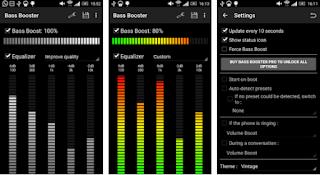 Aplikasi Bass Android / Penambah Bass pada Android