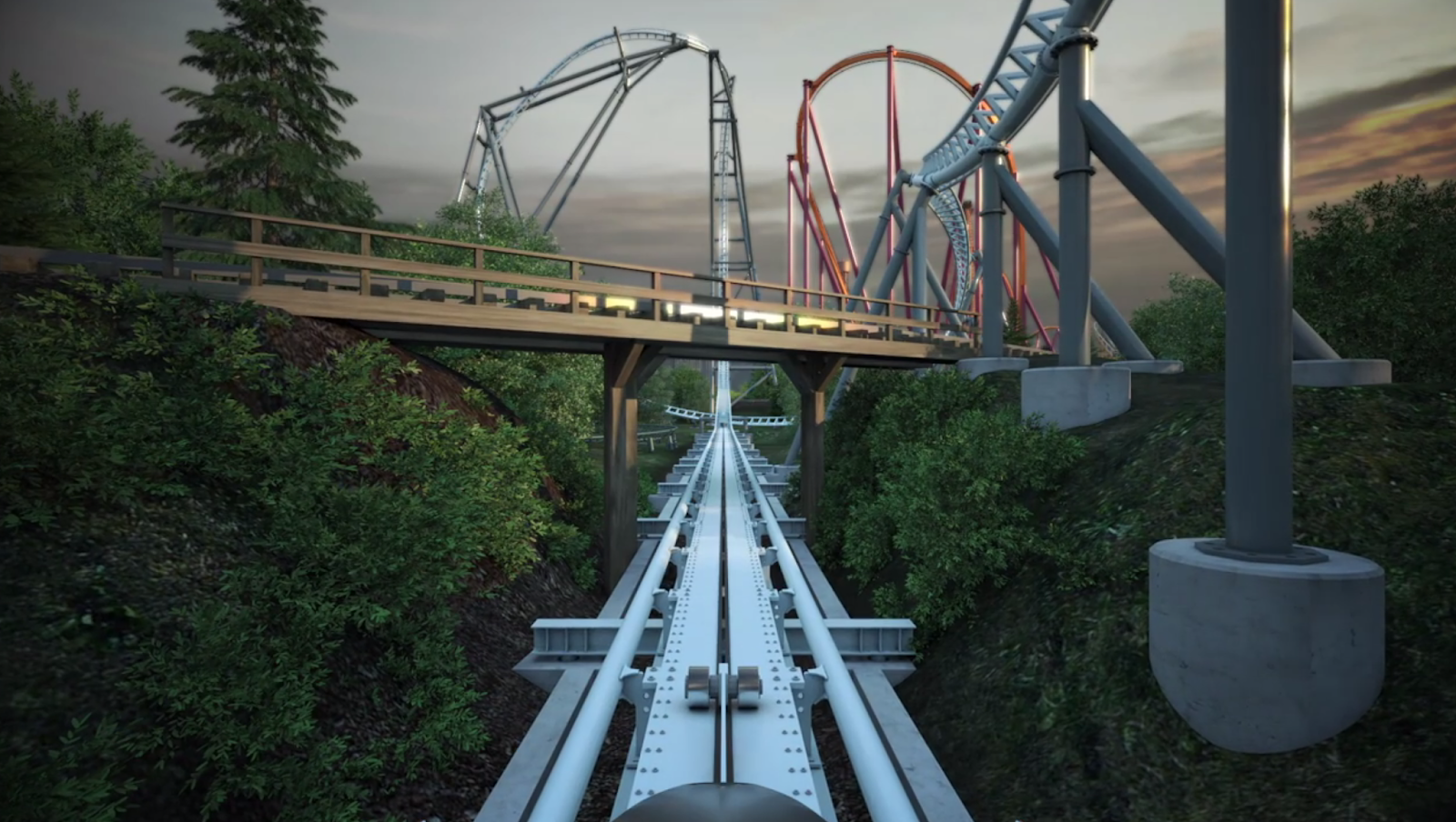 Newsplusnotes Six Flags Great America Releases New Maxx Force Pov