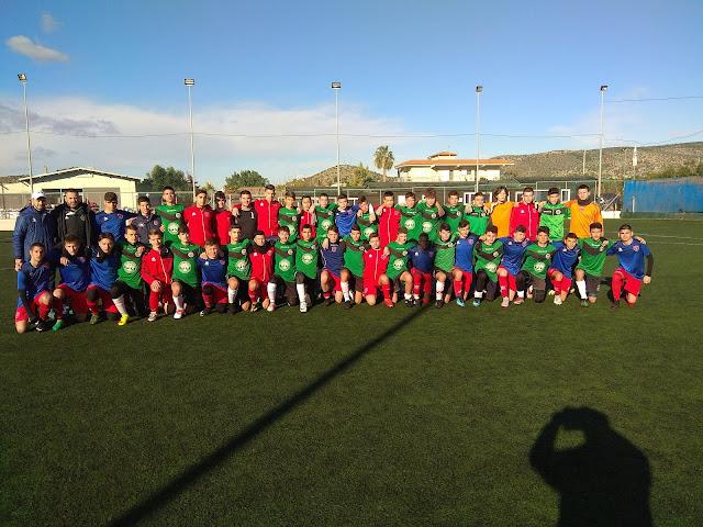 Με επιτυχίες η συμμετοχή του Αριστέα Άργους στο Πανελλήνιο Πρωτάθλημα Ακαδημιών Ποδοσφαίρου