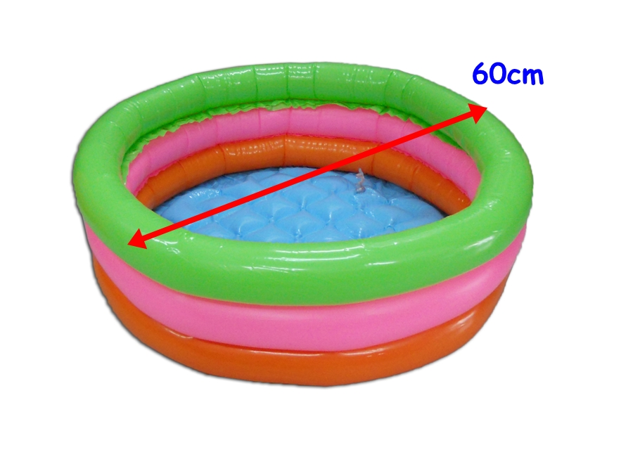 MINI SWIMMING POOL FLOOR IS AIR INFLATABLE