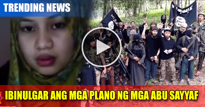 WATCH: This Pretty Muslim Exposed Abu Sayyaf's Plan. At The End of The Video is So Shocking Revealation