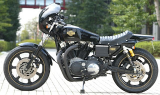 harley xlcr style by sundance on xr 1000 side left