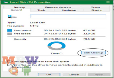 disk cleanup windows.old