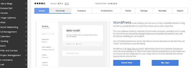Pada kali ini ane mau memaparkan cara install wordpress lewat softaculous di cpanel Cara Praktis Install Wordpress Di Cpanel Lewat Softaculous