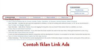 Iklan Link [Link Ads]