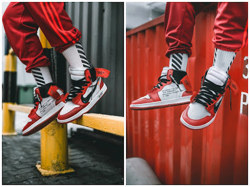 2f5840acc12cc7 Nike x Virgil Abloh Air Jordan 1 Chicago