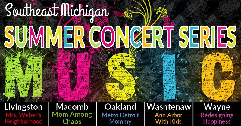 Southeast Michigan Summer Concert Series 2018