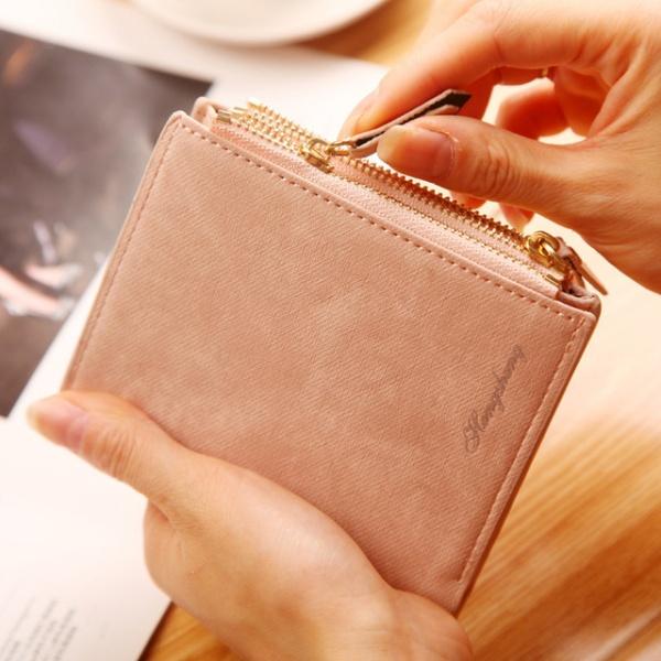 Purse Short Female Coin Zipper Clutch Coin Purse Credit Card