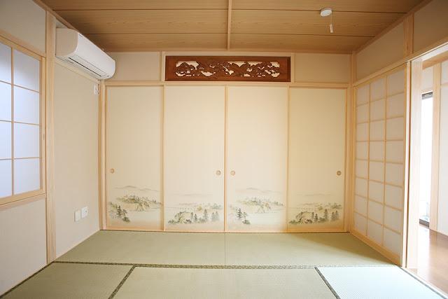 老後を夫婦二人で楽しむ住まいの和室の襖