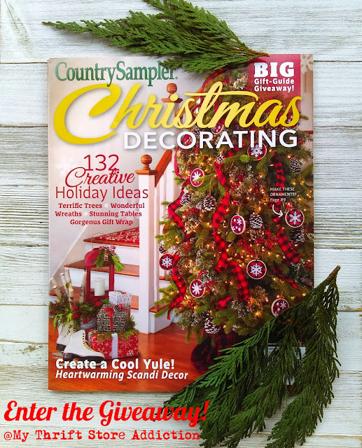 Country Sampler Christmas Giveaway