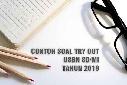 Soal Try Out USBN Kelas 6 Tahun 2019 dan Kunci Jawaban Tingkat SD/MI