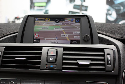 BMW Integrated Navigation