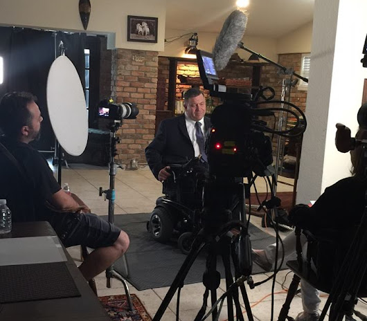Attorney Lance Richard is Interviewed by A&E for Legal Documentary