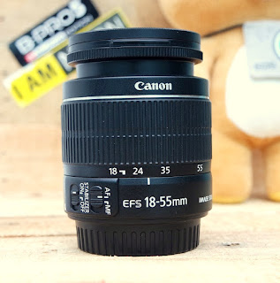 Jual Lensa Kit Canon 18-55mm IS2 Bekas