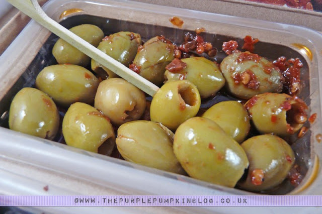 graze box review - nature delivered! - Moroccan Harissa Pitted Beldi Olives