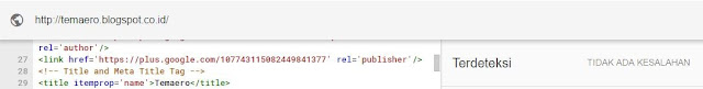 Kondia One ini juga menerapkan Structured Data Markup