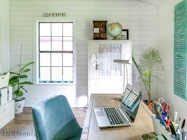 modern farmhouse office