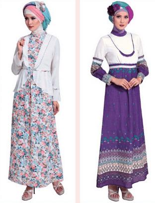Trend Aneka Model Busana Baju Gamis Untuk Pesta Trend