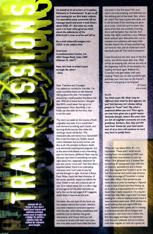 Read online Sigil (2000) comic -  Issue #2 - 26
