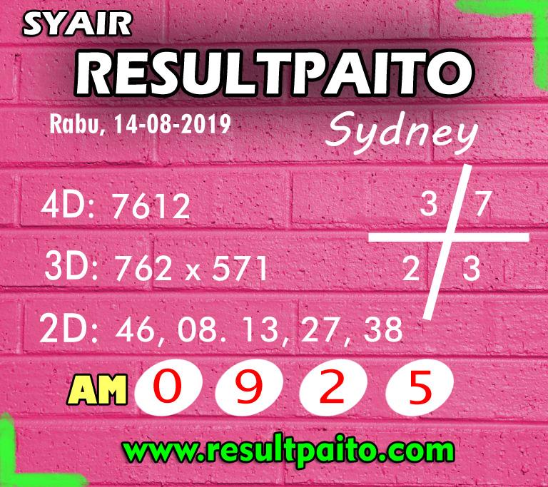 Forum Code Syair Sydney