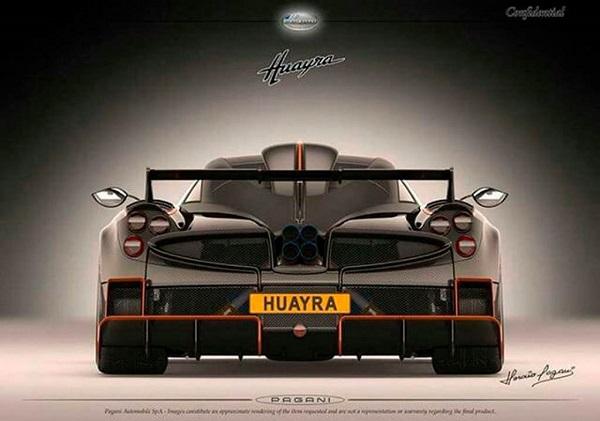 Pagani Huayra Dragon TopCars Design