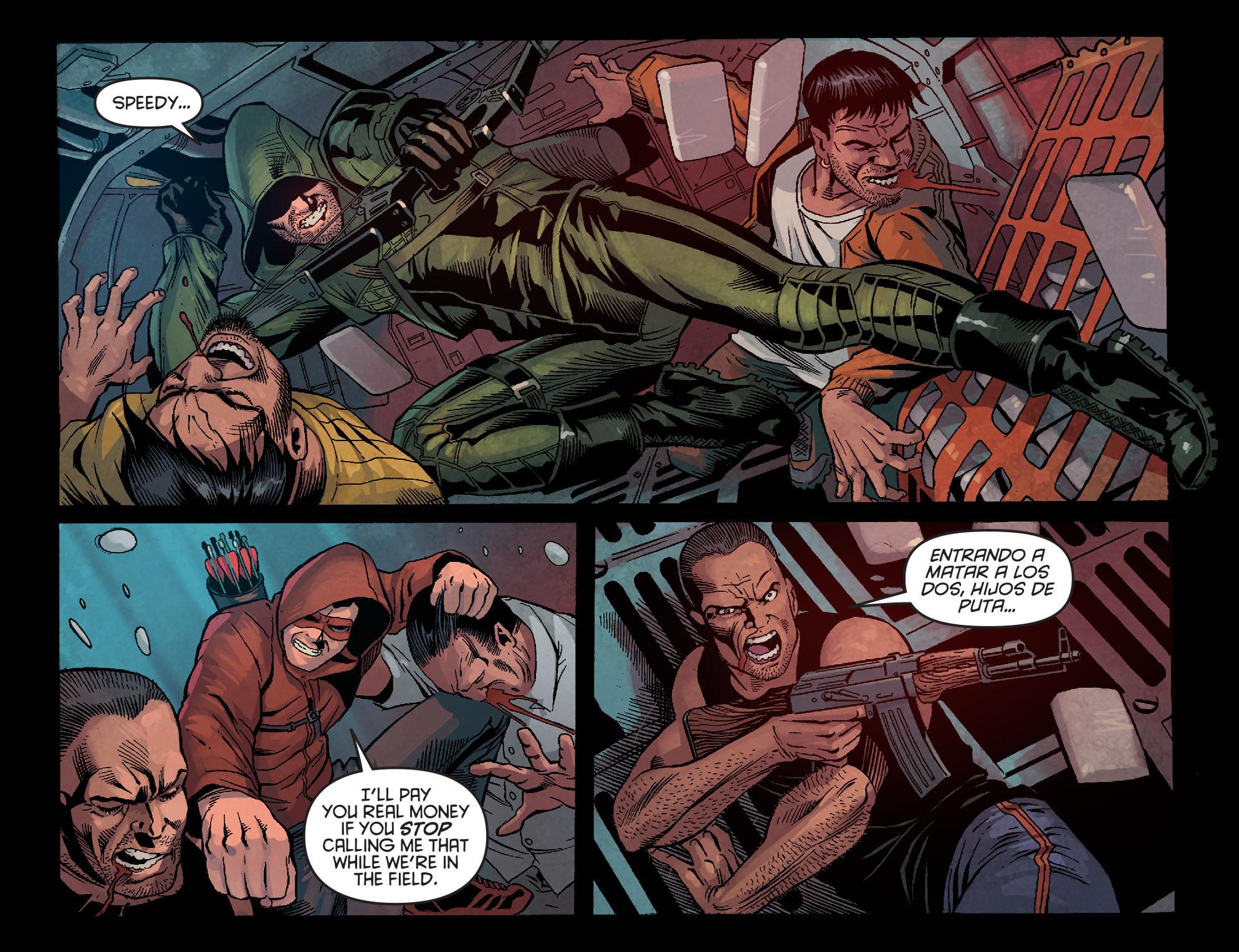 Read online Arrow: Season 2.5 [I] comic -  Issue #1 - 19