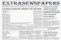 Editable Newspaper Template Portrait  Retirement Newspaper