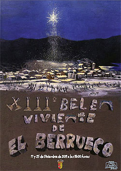 Belén Viviente de El Berrueco 2012